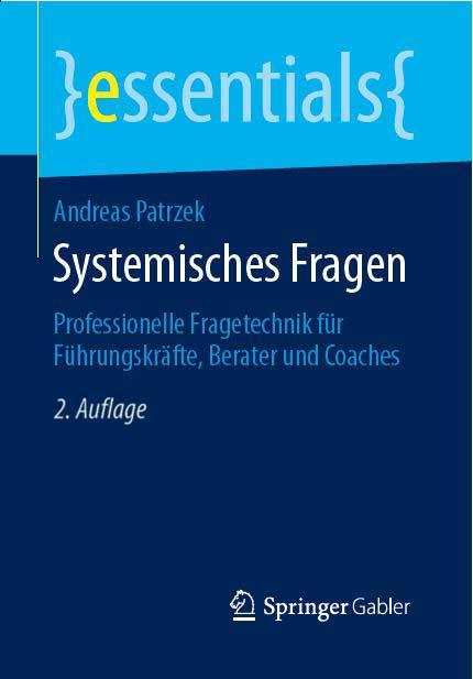 Systemisches Fragen, Buch von Andreas Patrzek